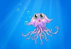 An octopus under the sea Royalty Free Stock Images