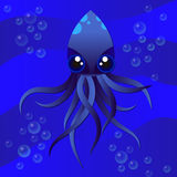 Octopus vector illustration Stock Photography