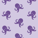 Octopusachtergrond Stock Foto's