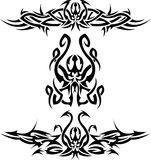 Octopuses. There are three tattoos with octopuses Royalty Free Stock Photos