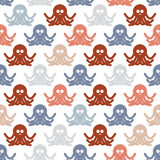 Octopuses background pattern. Stock Photos