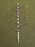 Octosyllable da raça de barco Foto de Stock