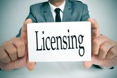 Octroi de licences Photos libres de droits
