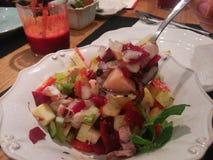 Octupus-Salat Lizenzfreie Stockbilder