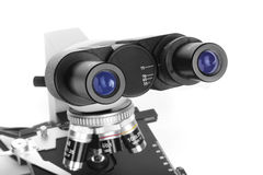 Ocular of microscope Stock Images