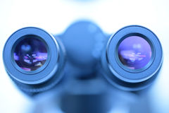 Oculare del microscopio Fotografia Stock Libera da Diritti
