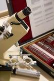 oculist s микроскопа стоковое изображение rf