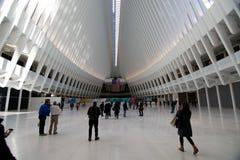 OCULUS,世界贸易中心运输插孔 库存照片