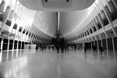OCULUS,世界贸易中心运输插孔 免版税库存图片