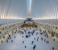 Oculus, всемирный торговый центр, Нью-Йорк Стоковые Изображения RF