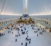 Oculus, всемирный торговый центр, Нью-Йорк Стоковая Фотография