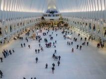 Oculus, всемирный торговый центр, Нью-Йорк Стоковое Изображение RF
