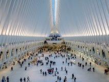 Oculus, всемирный торговый центр, Нью-Йорк Стоковое Фото