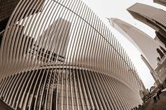 Oculus и башня свободы Стоковое Изображение RF