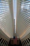 OCULUS, эпицентр деятельности транспорта всемирного торгового центра Стоковые Фотографии RF