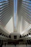 OCULUS, эпицентр деятельности транспорта всемирного торгового центра Стоковое Фото