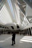 OCULUS, эпицентр деятельности транспорта всемирного торгового центра Стоковое Изображение RF