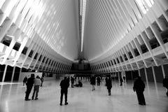 OCULUS, эпицентр деятельности транспорта всемирного торгового центра Стоковое фото RF