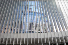 OCULUS, эпицентр деятельности транспорта всемирного торгового центра Стоковая Фотография RF