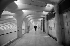 OCULUS, эпицентр деятельности транспорта всемирного торгового центра Стоковые Фото
