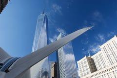 OCULUS, de Hub van het World Trade Centervervoer Royalty-vrije Stock Afbeelding