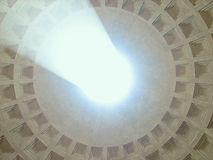 Oculus des Pantheons stockbild