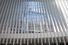 OCULUS, el eje del transporte del World Trade Center Fotografía de archivo libre de regalías