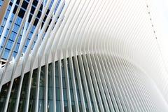Oculus i NYC Arkivfoto