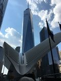 Oculus and one world center New York Stock Image