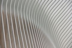 Scenes From A Thriving Metropolis On A Summers Day. The Oculus serves as the centerpiece of the World Trade Center Transportation Hub, incorporating 78,000 stock photo