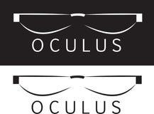 Oculus szkła Zdjęcia Royalty Free