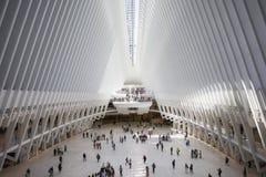 Oculus World Trade Center, New York, Förenta staterna Fotografering för Bildbyråer