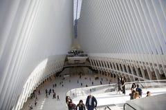 Oculus World Trade Center, New York, Förenta staterna Arkivbilder
