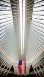 Oculus World Trade Center Transportation Hub in NYC stock photo