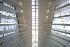 Oculus world trade center transportation hub and station royalty free stock image