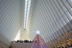 Oculusen i World Trade Center, New York Royaltyfri Bild