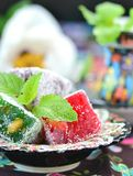 Ocum , turkish traditional delight Royalty Free Stock Images