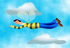 Ocupado como uma abelha ilustração do vetor