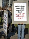Ocupe Berlin-protest-2011-10-15 Imagem de Stock