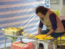Ocupe el arte del área - revolución del paraguas, el Ministerio de marina, Hong Kong imágenes de archivo libres de regalías