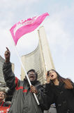Ocupe el movimiento. Foto de archivo libre de regalías