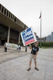 Ocupe Honolulu/APEC Protest-21 Fotos de Stock Royalty Free