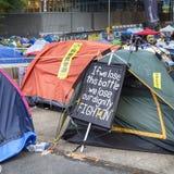 Ocupe o movimento central, Hong Kong Fotos de Stock Royalty Free