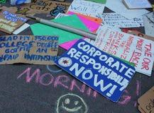Ocupe Wall Street Foto de Stock