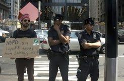 Ocupe Wall Street. Foto de Stock