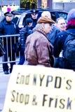 Ocupe Wall Street 5, bobinas Fotos de Stock Royalty Free