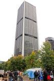 Ocupe Wall Street em Montreal (Quebeque Canadá) Fotos de Stock