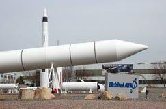 Oczodołowy ATK cypla rakiety ogród zdjęcia stock