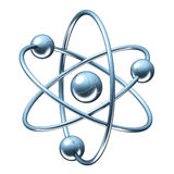 Oczodołowy model atom - physics 3D ilustracja Fotografia Stock