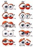 oczy Fotografia Stock
